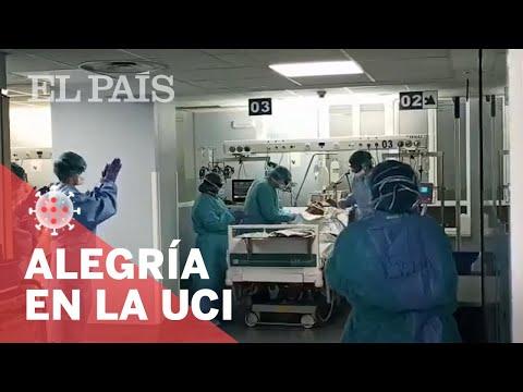 #CORONAVIRUS: Primer extubado en la UCI del Hospital Clínico de MADRID