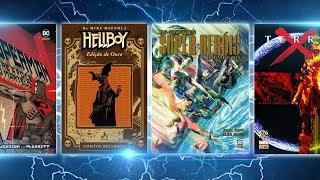 10 quadrinhos recém-lançados que são IMPERDÍVEIS