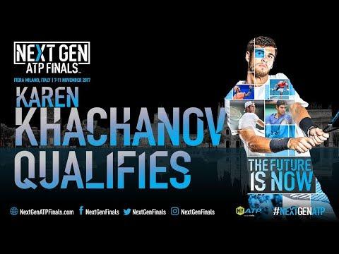 Khachanov Qualifies For Next Gen ATP Finals 2017