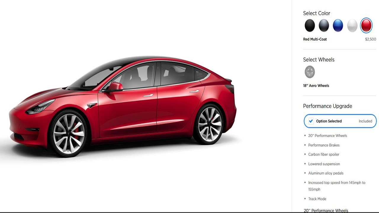 Buying a Tesla Model 3 - The Purchase Process - YouTube