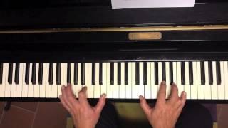 Tutorial piano Mira que eres linda (Antonio Machìn)