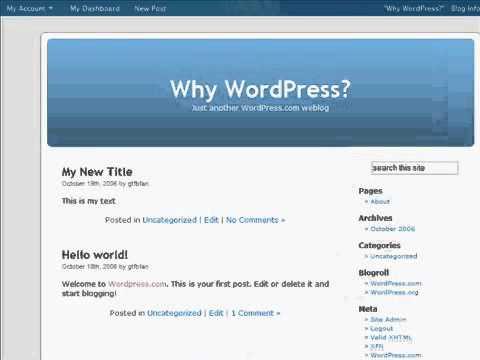 Why WordPress!! Best in Open Source CMS Development