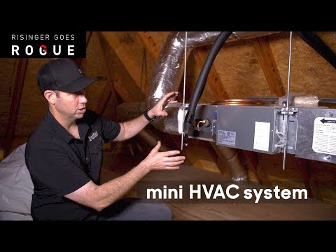 Mini HVAC system for a Master Bedroom