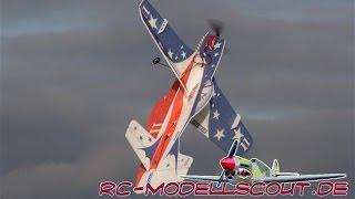 El Video del Informe de la Pichler dibujos Animados Mustang P-51 de Miss America en RC-Modellscout.de