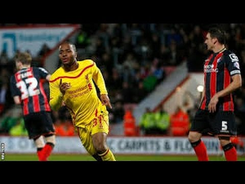 Bournemouth vs Liverpool 1-3 All Goals 12/2014 Full HD
