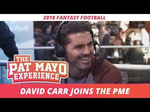 David Carr on being mistaken for his brother Derek