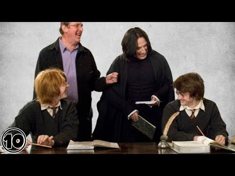 Top 10 Harry Potter Funniest Bloopers