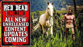 All UNRELEASED Red Dead Online Content Updates (RDR2)