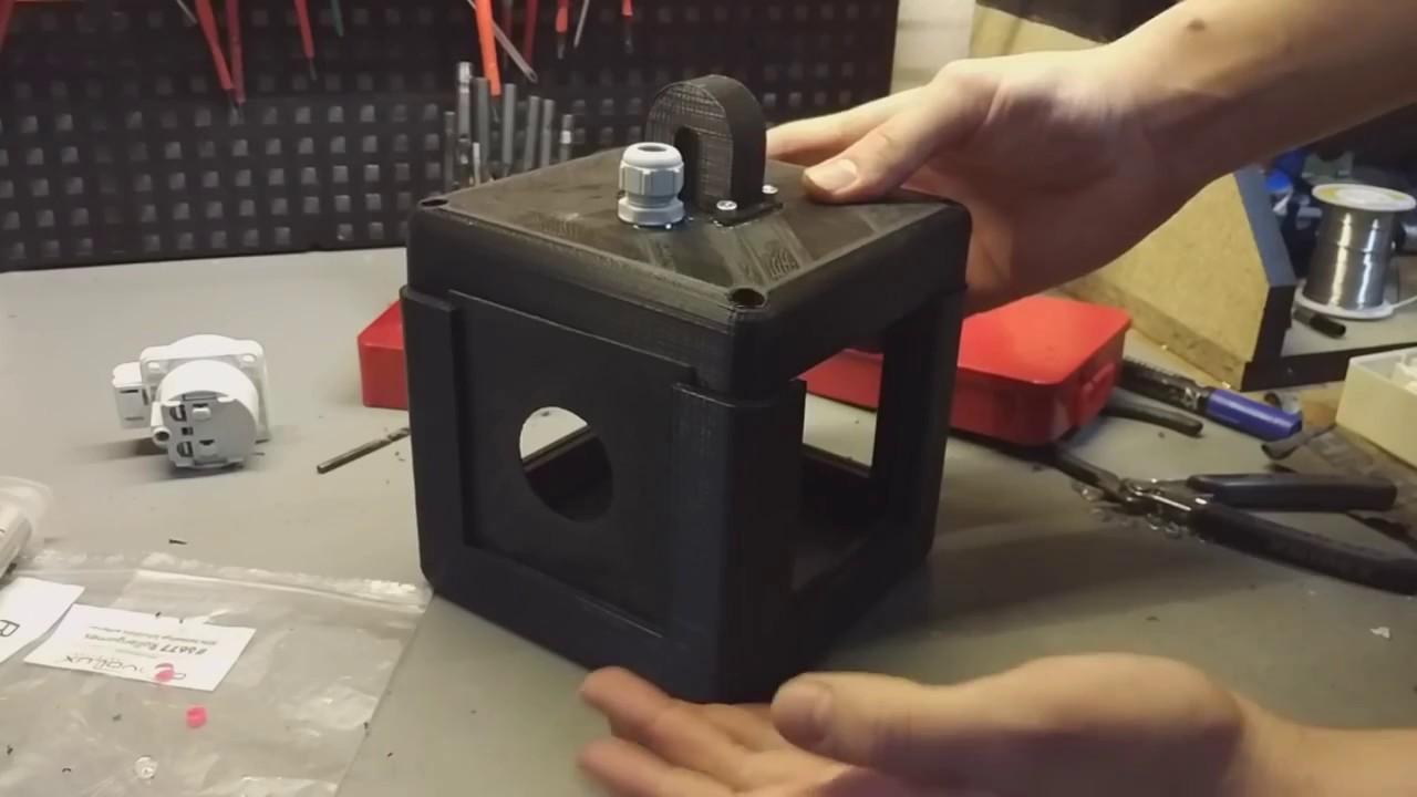 """""""Steckdosen Würfel"""" von mathisox nachbauen inkl. richtiger Verdrahtung! - Ich habe endlich mal einen wirklichen Nutzen für meinen 3D Drucker gefunden. ;)"""