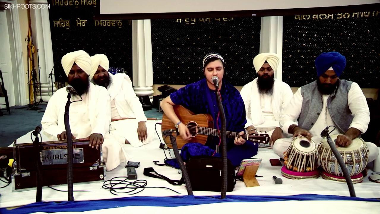 Gurbani Kirtan - Taren Kaur (UK)