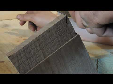 One of the Strongest Wooden Joints Ever Devised for Woodworking