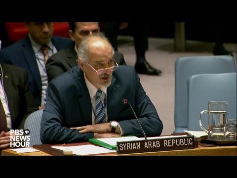 WATCH LIVE: UN Security Council discusses Syria