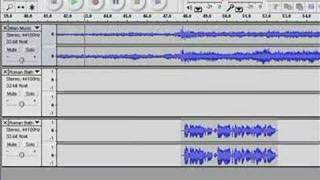 Mixing with Audacity