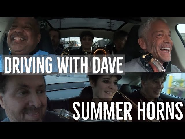 Summer Horns - Driving With Dave Koz