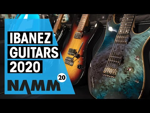 Ibanez Guitars 2020   New Lineup   NAMM   Thomann