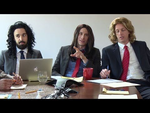 Long Haired Businessmen - All Hands Meeting