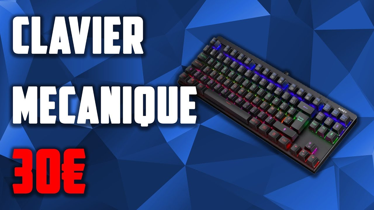 clavier mecanique gamer pas cher 30 euros youtube. Black Bedroom Furniture Sets. Home Design Ideas