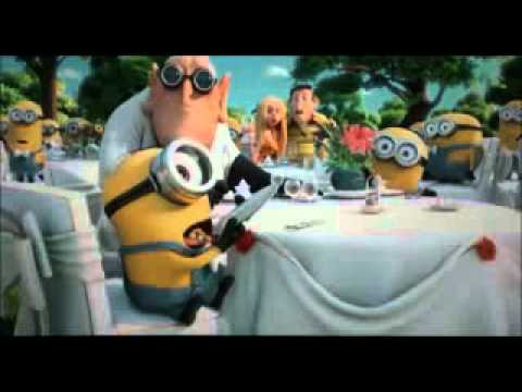 Minions sing I Swear and YMCA - Despicable Me2 (Gr