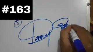 مؤثرة التوقيع ||كيفية إنشاء الخاصة بك مثير للإعجاب التوقيع الأبجدية (A,S,D,K,H,W,R,N,M )#163