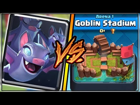Thumbnail: BATS TROLLING ARENA 1 IN CLASH ROYALE | FUNNY MOMENTS & BATS GAMEPLAY!