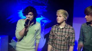 One Direction singing Forever Young at the Launch of Pokemon