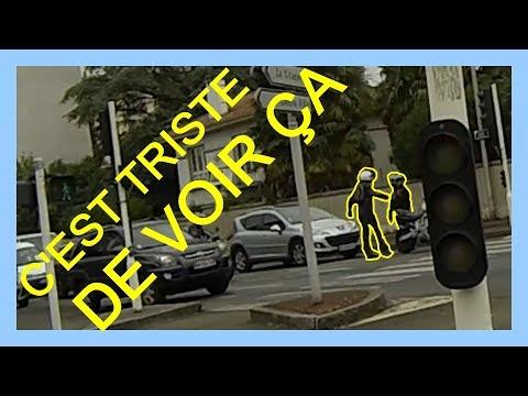ROAD RAGE ENTRE 2 MOTARDS ! ILS VEULENT SE BATTRE :/ ✶ DO 51