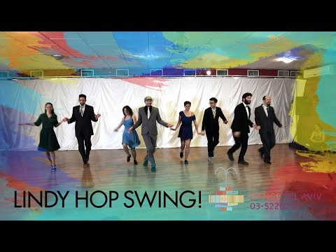 Lindy Hop Swing! Private and group lessons in DanceTLV!