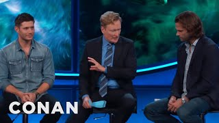 "Jensen Ackles Dies Constantly On ""Supernatural""  - CONAN on TBS"