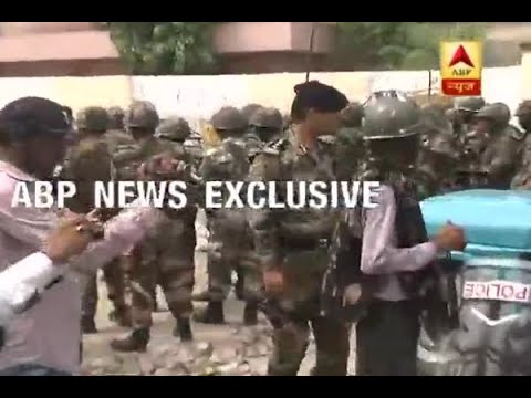 Ram Rahim Rape Case: Ground report from Sirsa Aasharam; Scuffle between Police, Dera suppo