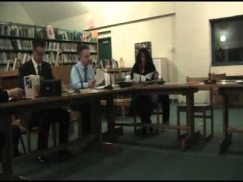 Exeter-West Greenwich School Committee Nov. 24, 2015