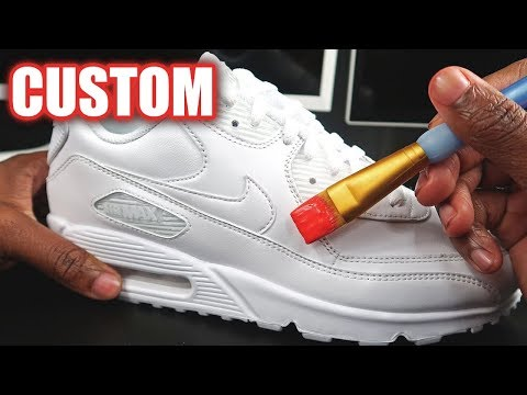 Custom AIR MAX 90!! (SATISFYING) | MARKO YouTube