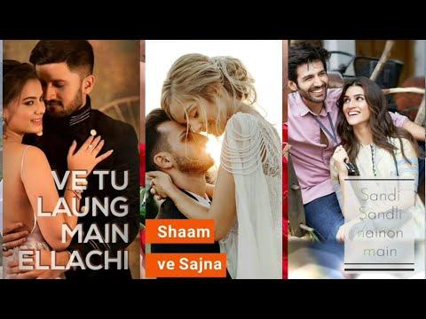 Luka Chuppi: Tu Laung Main Elaachi | New Romantic Fullscreen WhatsApp Status | Latest Punjabi Songs