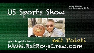 Live!!! Bet Boys Crew - Poletis US Sports & Sports Betting Show #55