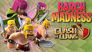 MAX BARCH on MY TH8!  Clash of Clans