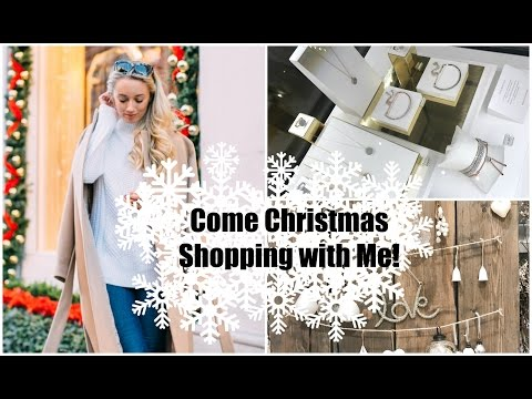 Come Christmas Shopping With Me!  In-Store VS Online   |   Fashion Mumblr Vlogmas Day 10