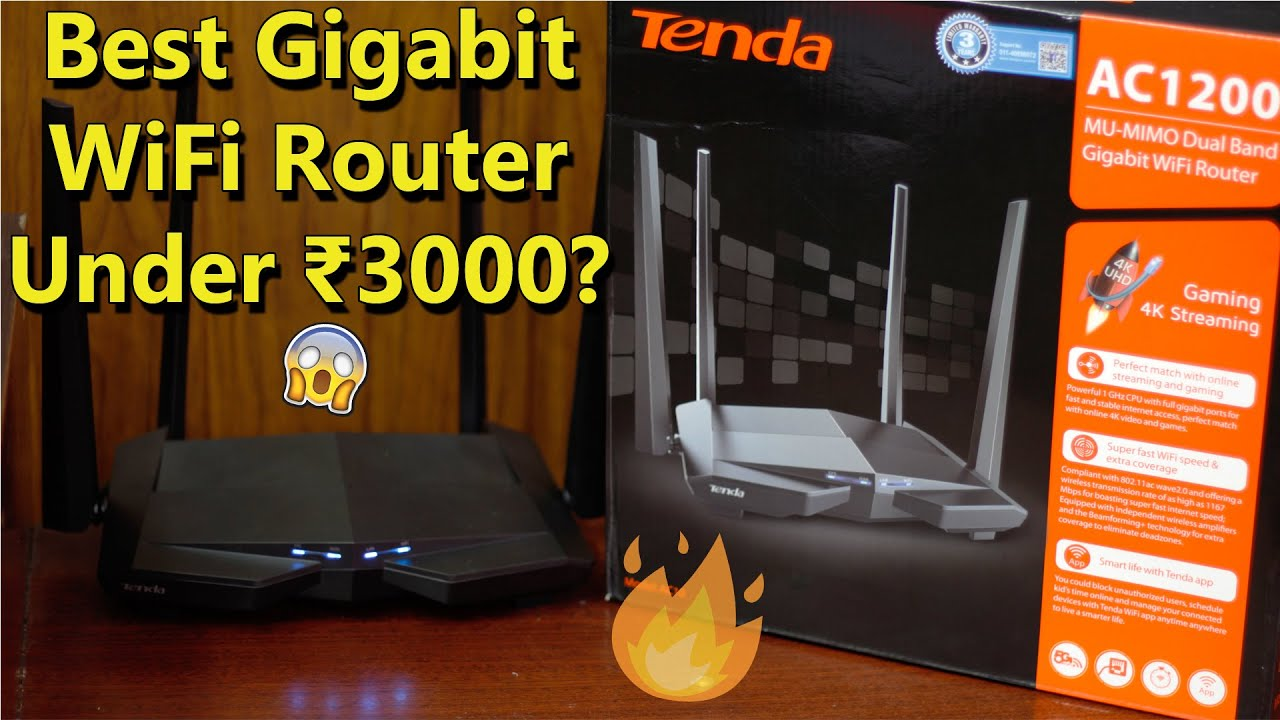 Tenda AC10 AC1200 Router Unboxing In Hindi | Best Budget Router For Gamers? 🎮
