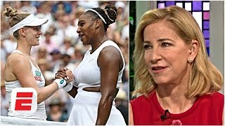 Serena Williams needed to be tested ahead of big matches – Chrissie Evert | 2019 Wimbledon
