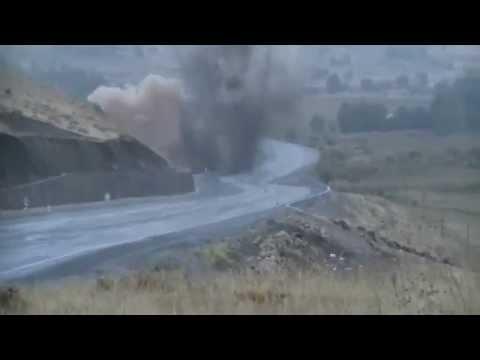 Bingöl Karlıova'da PKK'nın Yola Tuzakladığı Bomba İmha Edildi