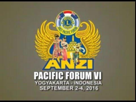 ANZI Pacific Forum VI 2016 in Yogyakarta