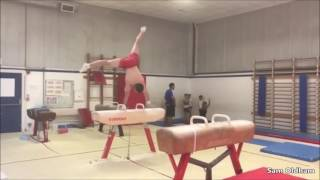 Viktoria Komova Training New Skill, Sanne Wevers New Combo, Becky Downie & More