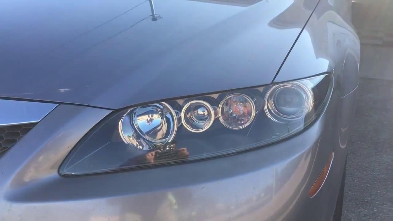 2007 mazda 6 headlight restoration auto detaling austin llc [ 1280 x 720 Pixel ]