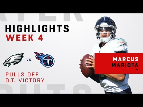 Marcus Mariota Pulls Off Huge OT Victory Over Philly!