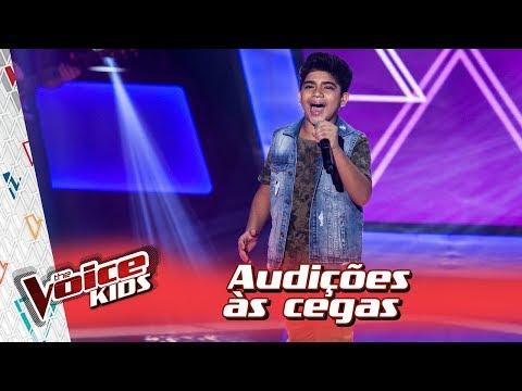 Alerrandro Costa canta 'É o Amor' na Audição – 'The Voice Kids Brasil' | 3ª Temporada