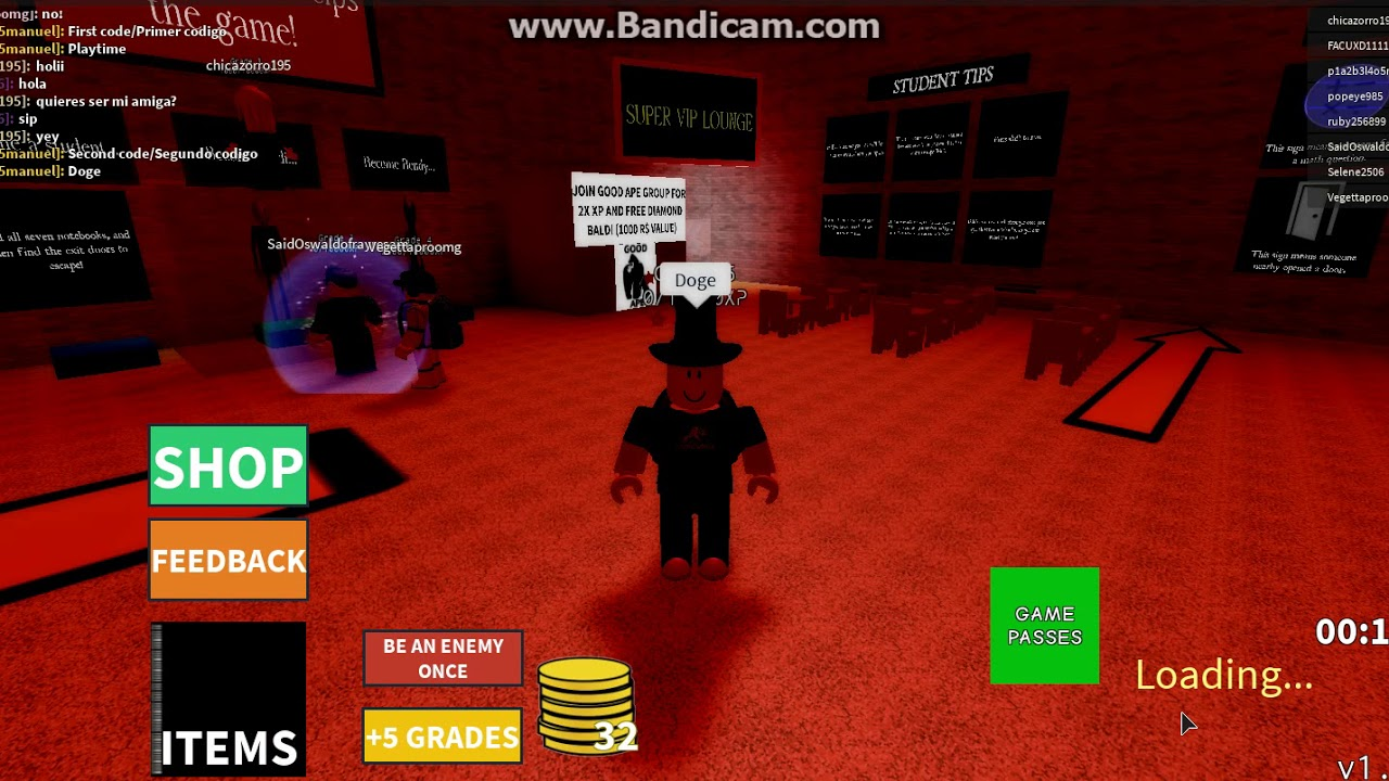 Roblox New Codes In Baldi S Basics Multiplayer Beta Youtube