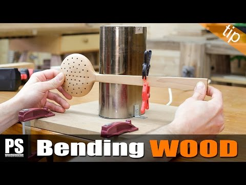Bending Wood with a Bending Iron