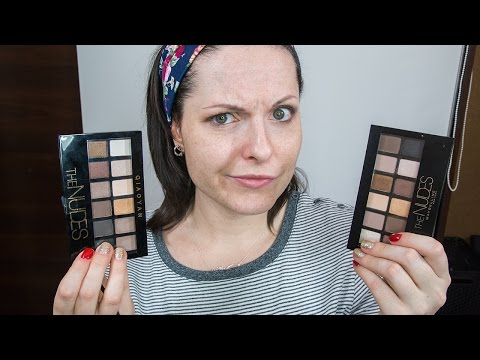 Maybelline The nudes kontra Qiaoyan The Nudes z Aliexpress