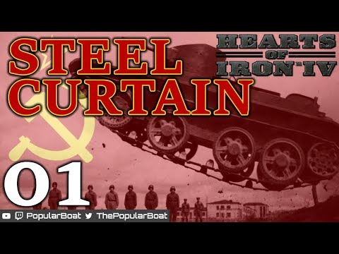 HOI4 1.4.2 - Soviet Union: Steel Curtain - 01