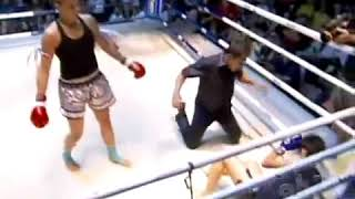 "Muay Thai Highlights- Fight Girls Finals- ""It's Going Down"""