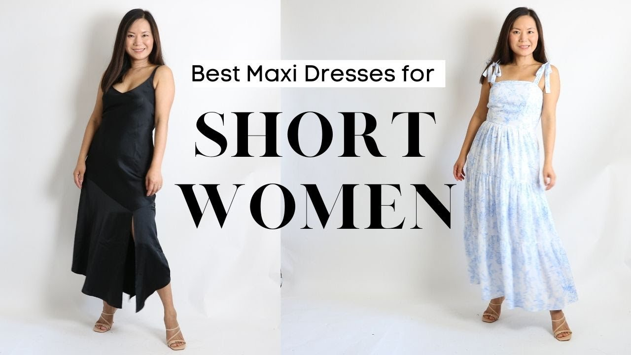 How to wear maxi dresses if you are short like me