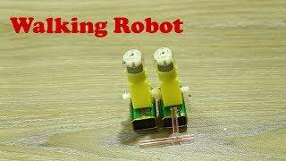 Video Make Simple Legged Walking Robot with Double Gear Motor download MP3, 3GP, MP4, WEBM, AVI, FLV Juli 2018